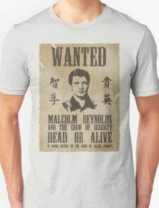 Wanted Captain  Unisex T-Shirt