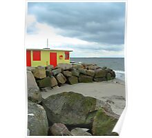 Beach Shop at Salthill - no.2 Poster