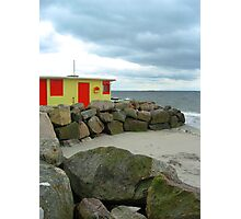 Beach Shop at Salthill - no.2 Photographic Print
