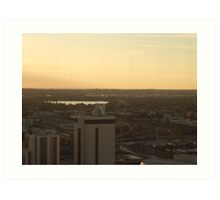 North West. St Martins Tower. Perth. Art Print