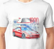 Nissan 300zx Classic Car Illustration Unisex T-Shirt