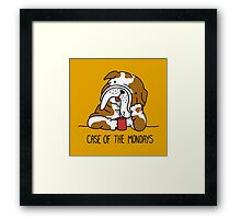 Case of the Mondays Framed Print
