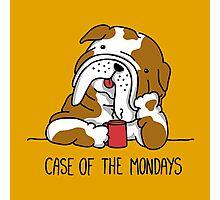 Case of the Mondays Photographic Print