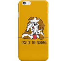 Case of the Mondays iPhone Case/Skin