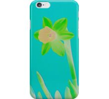 Daffodil Light Green iPhone Case/Skin