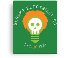 Blanka Electrical Co. Canvas Print