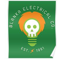 Blanka Electrical Co. Poster