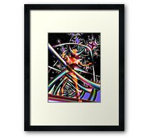 Space Time 180 Framed Print