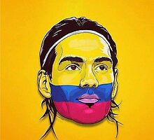Falcao Colombia by danbrobro