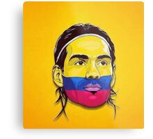 Falcao Colombia Metal Print