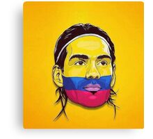 Falcao Colombia Canvas Print