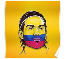 Falcao Colombia Poster