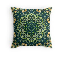 Floral ornament Throw Pillow