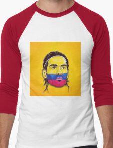 Falcao Colombia Men's Baseball ¾ T-Shirt