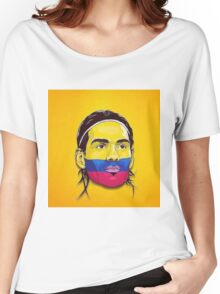 Falcao Colombia Women's Relaxed Fit T-Shirt