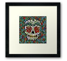 'Sweet Sugar Skull #1 Framed Print