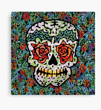 'Sweet Sugar Skull #1 Canvas Print