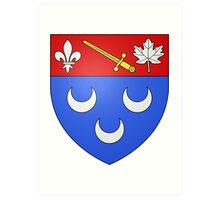 Blainville Coat of Arms Art Print
