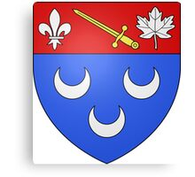 Blainville Coat of Arms Canvas Print