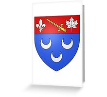 Blainville Coat of Arms Greeting Card