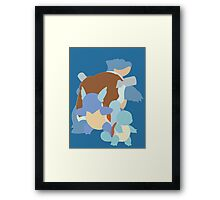 Squirtle Evolution Framed Print