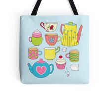 Teapots, cupcakes & more Tote Bag
