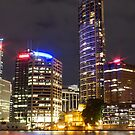 Brisbane CBD from Kangaroo Point 6 by Newsworthy