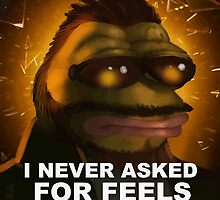 Tough Pepe by kendokoala