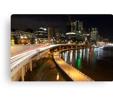 Riverside Expressway Canvas Print
