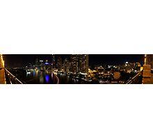 Brisbane CBD Panorama  Photographic Print