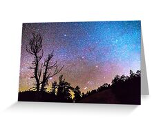 Celestial Universe Greeting Card
