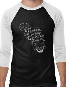 Cheshire Quote Men's Baseball ¾ T-Shirt