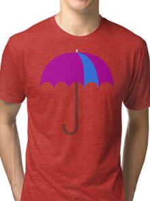 Bright Umbrella Tri-blend T-Shirt