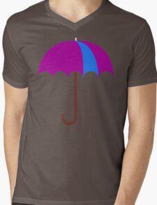 Bright Umbrella Mens V-Neck T-Shirt