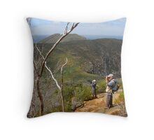 A couple of photographers... in their element. Throw Pillow