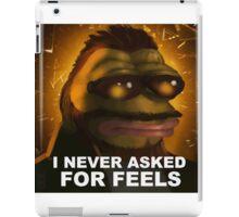 Tough Pepe iPad Case/Skin