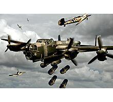Flying Bomber Photographic Print