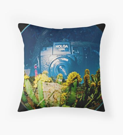 My Favorite Camera Throw Pillow