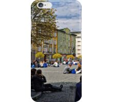 March of the Living.. Krakow Ghetto Memorial iPhone Case/Skin