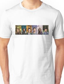 Teen Wolf Cast Into The Woods Unisex T-Shirt