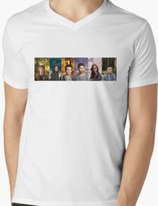 Teen Wolf Cast Into The Woods Mens V-Neck T-Shirt
