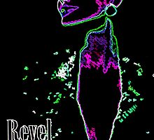 """Revel Headed"" 2009 by LadyElektra"