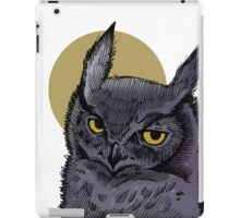 HOO! iPad Case/Skin