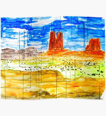 Windows on the Desert  Poster
