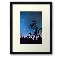 Astrophotography Night Framed Print