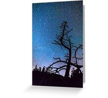 Astrophotography Night Greeting Card