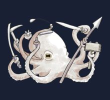 Warrior Octopus by Sophie Baer