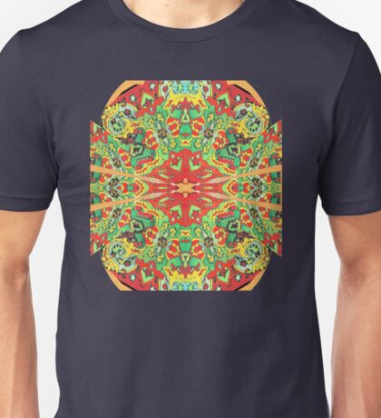 Stain Glass D Unisex T-Shirt