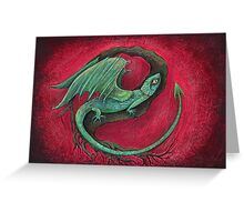 baby dragon Greeting Card