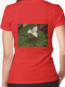 Western Trillium Women's Fitted V-Neck T-Shirt